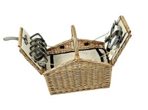 Picknickkorb für 4 Personen