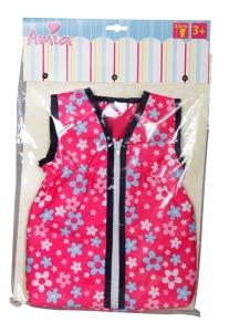Amia Puppenschlafsack, für Puppengröße 43cm.