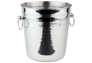 APS Wein-/Sektkühler Edelstahl poliert, 21cm