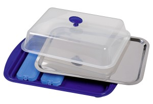 ASSHEUER + POTT Kühlplatte mit Haube, 43x29cm