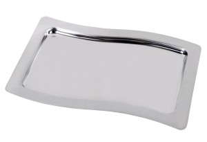 ASSHEUER+POTT Tablett Swing Edelstahl 53x32,5cm