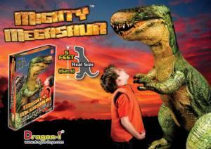 Aufblasbarer Dinosaurier T-Rex