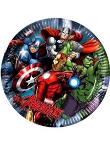Avengers Pappteller 8 Stück