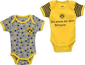 Borussia Dortmund Babybody 2er-Set - verschiedene Größen