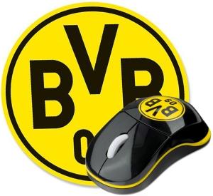 Borussia Dortmund BVB-Mouse mit Mousepad