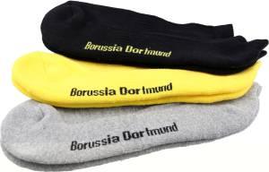 Borussia Dortmund Sneaker-Socken 3er-Set - verschiedene Größen