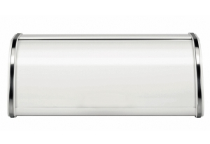 BRABANTIA Brotkasten, weiß, 45x26cm