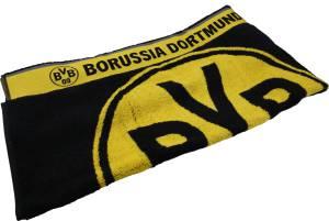 Borussia Dortmund Badetuch Logo, 70x180cm