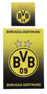 Borussia Dortmund Bettwäsche Punkteverlauf 135x200cm