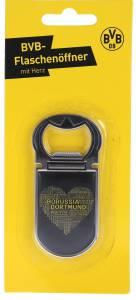 Borussia Dortmund Flaschenöffner mit Herz