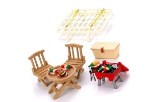 Sylvanian Families Dachgepäckträger mit Picknickset