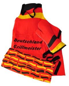 """Deutschland """"Grill-Set"""" 3-teilig"""