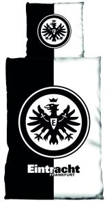Eintracht Frankfurt Bettwäsche Kontrast, 135x200cm