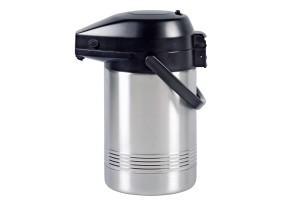Emsa Pump-Thermokanne, 2l, Edelstahl/schwarz