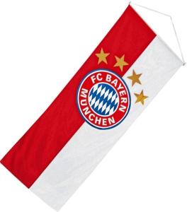 FC Bayern München Bannerfahne Logo, 120x300cm