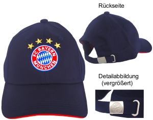 """FC Bayern München Baseballcap """"Logo"""", navy"""