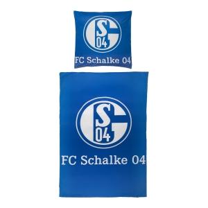 FC Schalke 04 Bettwäsche Signet, Mikrofaser