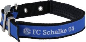 FC Schalke 04 Hundehalsband klein 30-45 cm