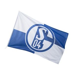 FC Schalke 04 Hissfahne Karo 150x250cm