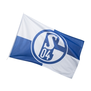 FC Schalke 04 Hissfahne Karo 200x300cm