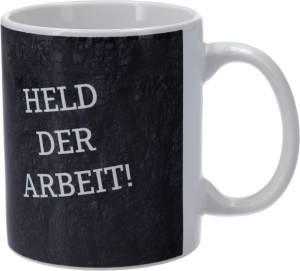 """FC Schalke 04 Tasse """"Held der Arbeit"""" 0,3 Liter"""