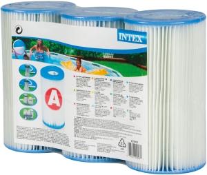 Intex Filterkartusche Typ A, 3er Pack