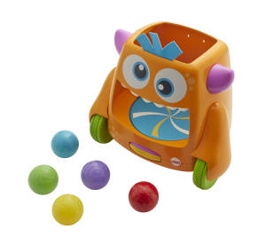 Fisher Price Kullerball-Monster