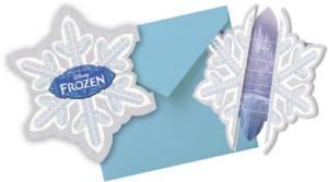 Die Eiskönigin Ice Skating Einladungskarten 6 Stück