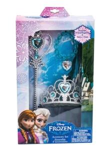 Die Eiskönigin-Prinzessinset - Zepter, Krone, Armband