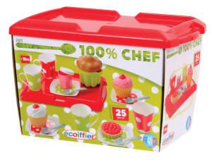 Spielzeug Frühstücksbox mit Tablett 25-teilig