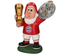 FC Bayern München Gartenzwerg Double, 29 cm