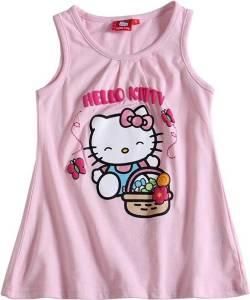"""Hello Kitty Top """"Butterflies"""", rosa - verschiedene Größen"""