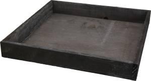 Holztablett 30x30x4cm