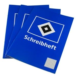 HSV Schreibheft 3er-Set, DIN A4