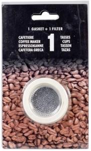 Krüger 1 Filter+3 Ringe für Espressokocher (1)