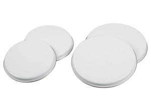 Krüger Abdeckplatten-Set 4-teilig weiß