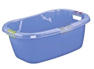 LOCKWEILER Wäschewanne 65 Liter blau