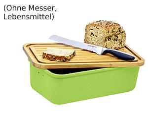"""Magu Brotkasten """"Natur Design"""" grün"""