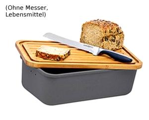 """Magu Brotkasten """"Natur-Design"""" schiefer"""