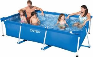 Intex Metal Frame Rechteck Pool - verschiedene Größen