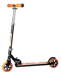 New Sports Scooter 125 mm Orange