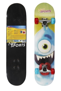New Sports Skateboard Cyclops, LED Räder