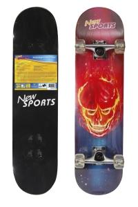 New Sports Skateboard Ghostrider, Länge 78,7 cm.