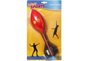 New Sports Wurfrakete mit Heuler, 30 cm.
