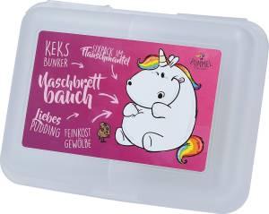 Pummeleinhorn Brotdose Naschbrettbauch