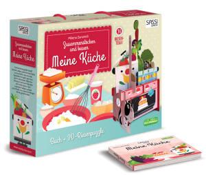 Puzzle 3D Riesenpuzzle Meine Küche + Buch