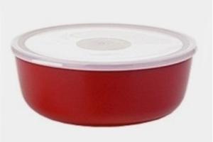 ROSTI-MEPAL Volumia Schale mit Deckel, 2 Liter, rot