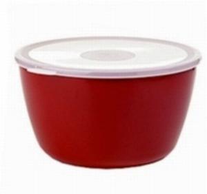 ROSTI-MEPAL Volumia Schale mit Deckel, 3 Liter, rot