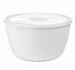 ROSTI-MEPAL Volumia Schale mit Deckel, 3 Liter, weiß