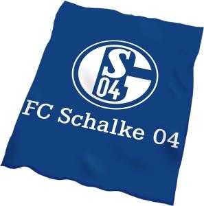 FC Schalke 04 Veloursdecke Plakat, 150x200cm